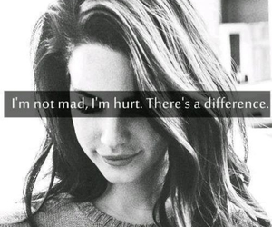 hurt, mad, and quotes image