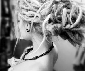 beautiful, dreads, and hair image