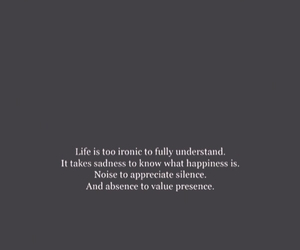 quotes, ironic, and life image