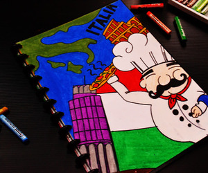 chef, color, and colorful image