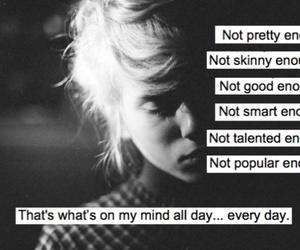 sad, skinny, and text image