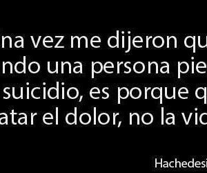 suicide, pain, and frases image