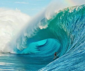 surf, summer, and sea image