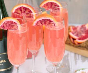 drink, fruit, and orange image