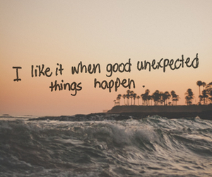 quotes, beach, and unexpected image