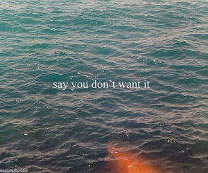 quote, want, and water image