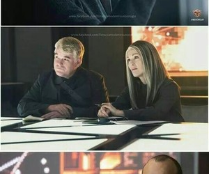 coin, hunger games, and haymitch image