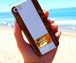 case, beach, and iphone image