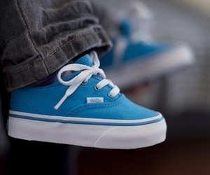 baby, blue, and vans image