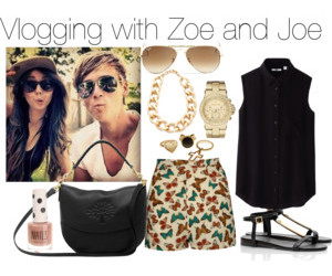 Polyvore, youtuber, and zoella image