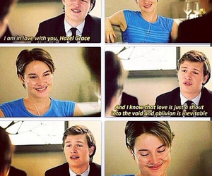 the fault in our stars, scene, and tfios image