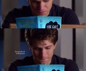 keegan allen, the fault in our stars, and pretty little liars image