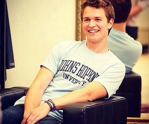 ansel elgort, the fault in our stars, and tfios image