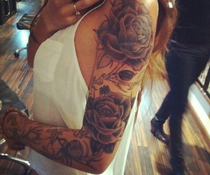 beautiful, sleeve, and want image