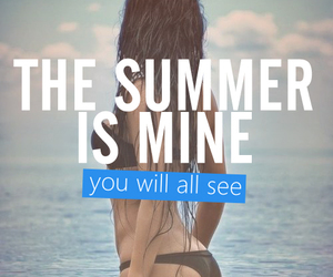 summer, motivation, and fitness image