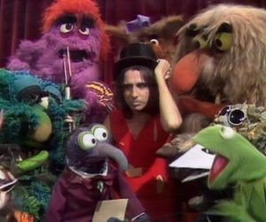 the muppets, the muppet show, and alice cooper image