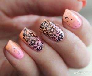 art, nail art, and nail polish image