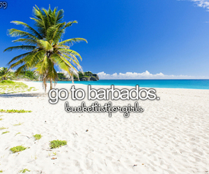 barbados, travel, and bucketlist image