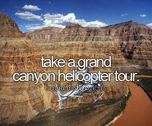 Dream, grand canyon, and bucketlist image