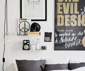 room, bedroom, and black image