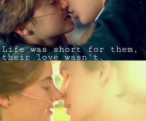 the fault in our stars, love, and life image