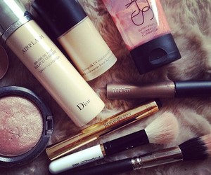 dior, makeup, and nars image