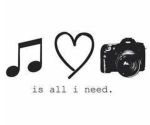 music, love, and camera image