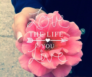 love, flowers, and life image