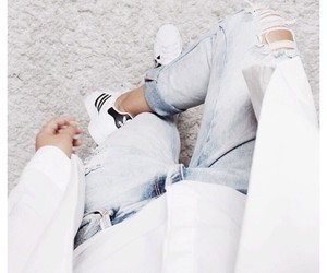 fashion, white, and adidas image