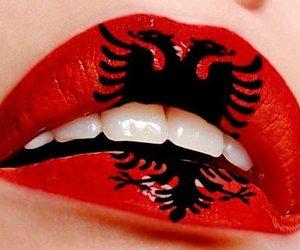 albanian and lips image