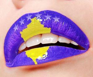 kosovo, lips, and albania image