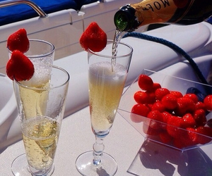 luxury, summer, and strawberry image