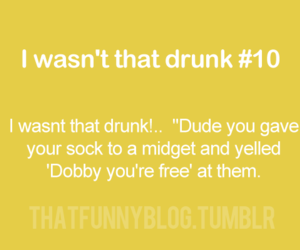 drunk and dobby image