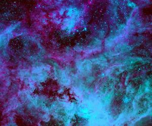 blue, color, and galaxy image