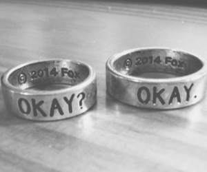 okay, the fault in our stars, and rings image
