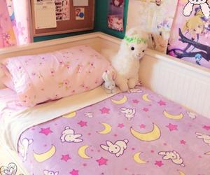 kawaii, room, and bedroom image