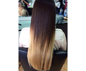 beauty, hair, and dip dye image