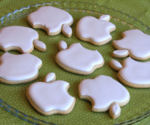 apple, Cookies, and food image
