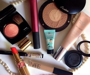 benefit, chanel, and makeup image