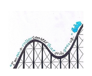 the fault in our stars, tfios, and rollercoaster image