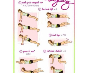 fitness, exercise, and work out image