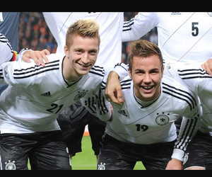 germany, hot guys, and soccer image