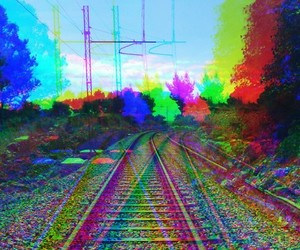 drugs, hallucination, and lsd image