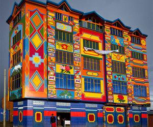 legocube, Bolivia, and colourful image