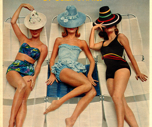 fashion, magazine, and retro image