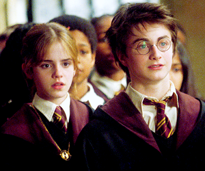 daniel radcliffe, hermione granger, and emma watson image