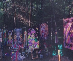 hippie, cool, and forest image