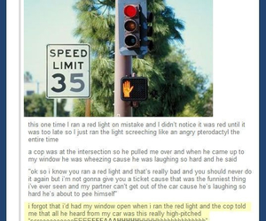 funny, tumblr, and cops image
