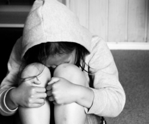 child, cry, and girl image