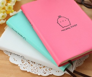 diary, girly, and pink image